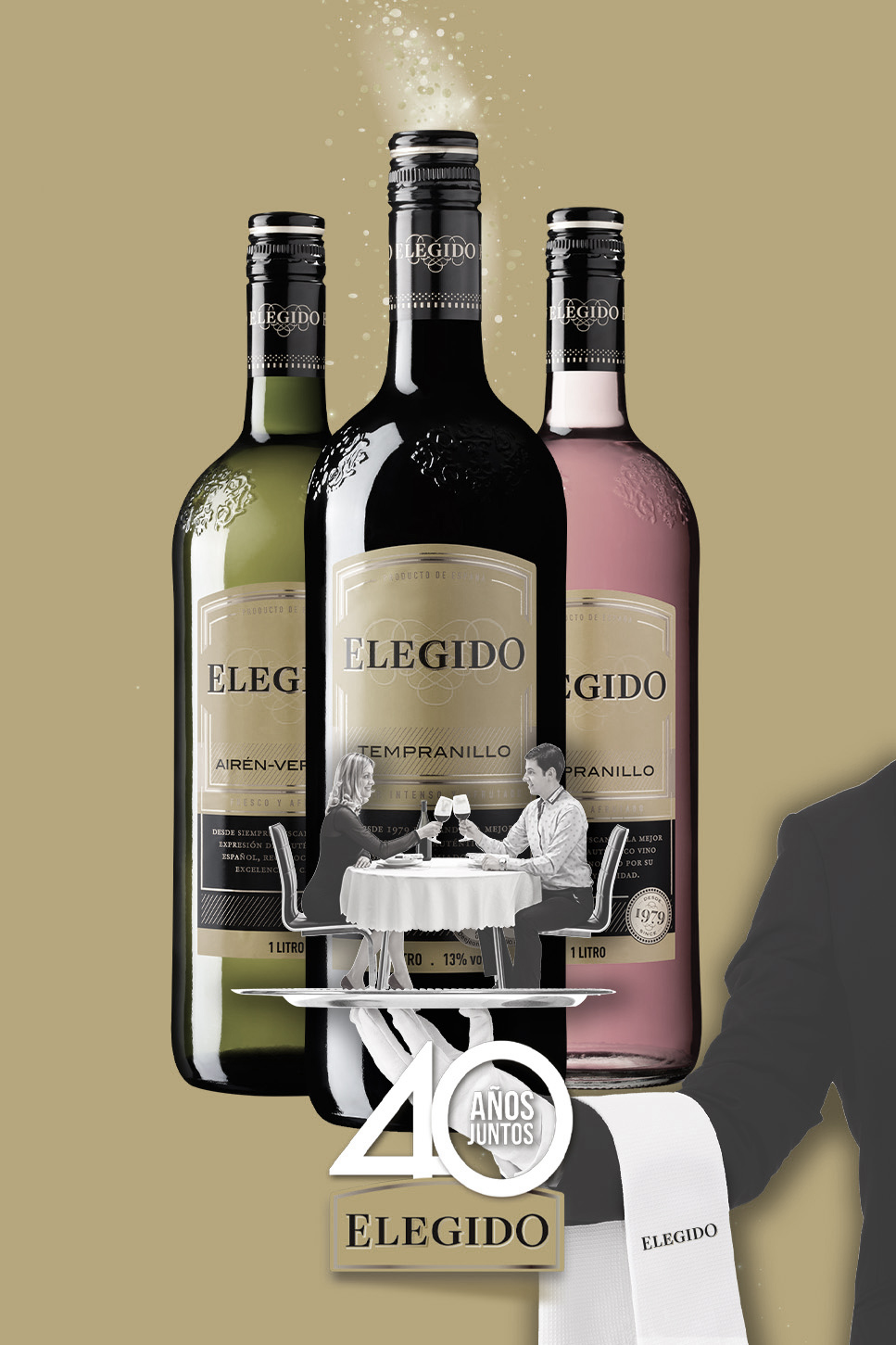 Elegido – End of the 40th anniversary | Reserva de la Tierra